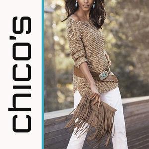 Chico's | 'Sherri' Textured Knit Pullover Sweater